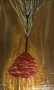 17. The Rose | Oil painting | 34 x 57 cm | 2019
